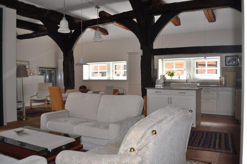 Gerkenhoff in Eickeloh - Ferienwohnung Aller - Erdgeschoss - barrierefrei - Wohn-/Esszimmer