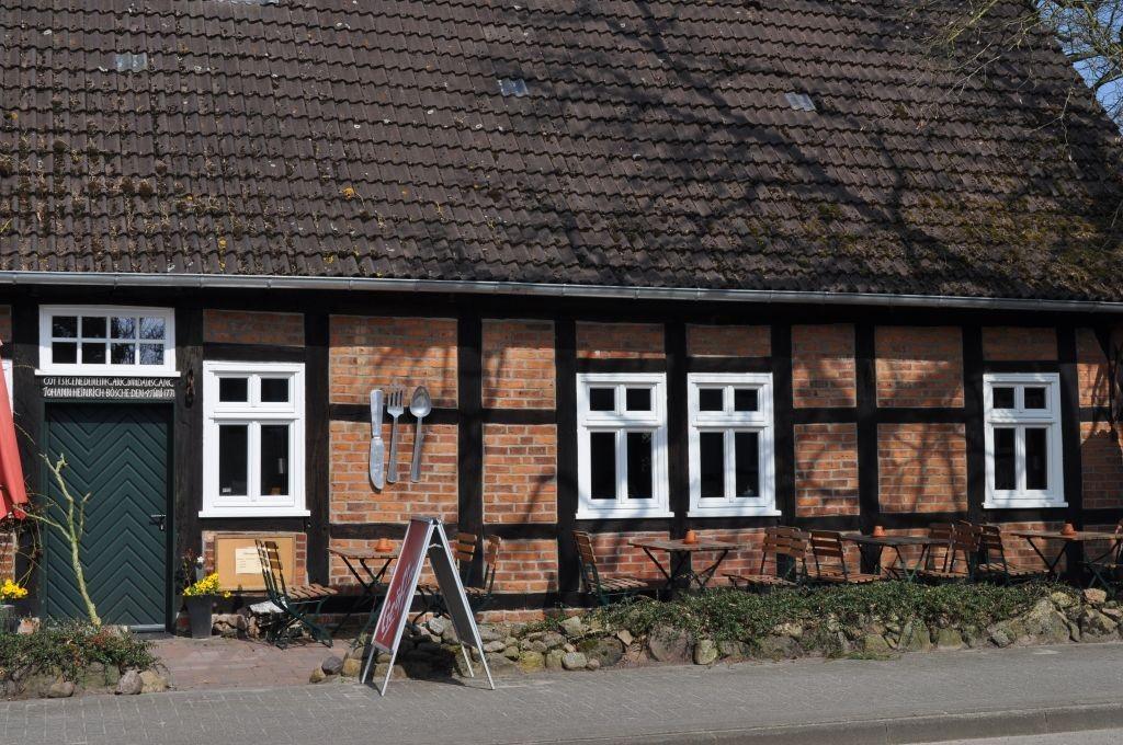 Hofcafé und Restaurant mit ländlichen, regionalen Spezialitäten - die Mehlkammer in Eickeloh